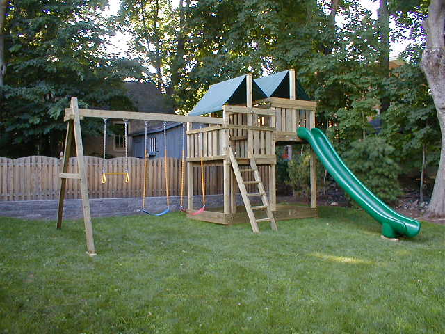 Great Playset build with Gemini Plans by a DIY Dad.