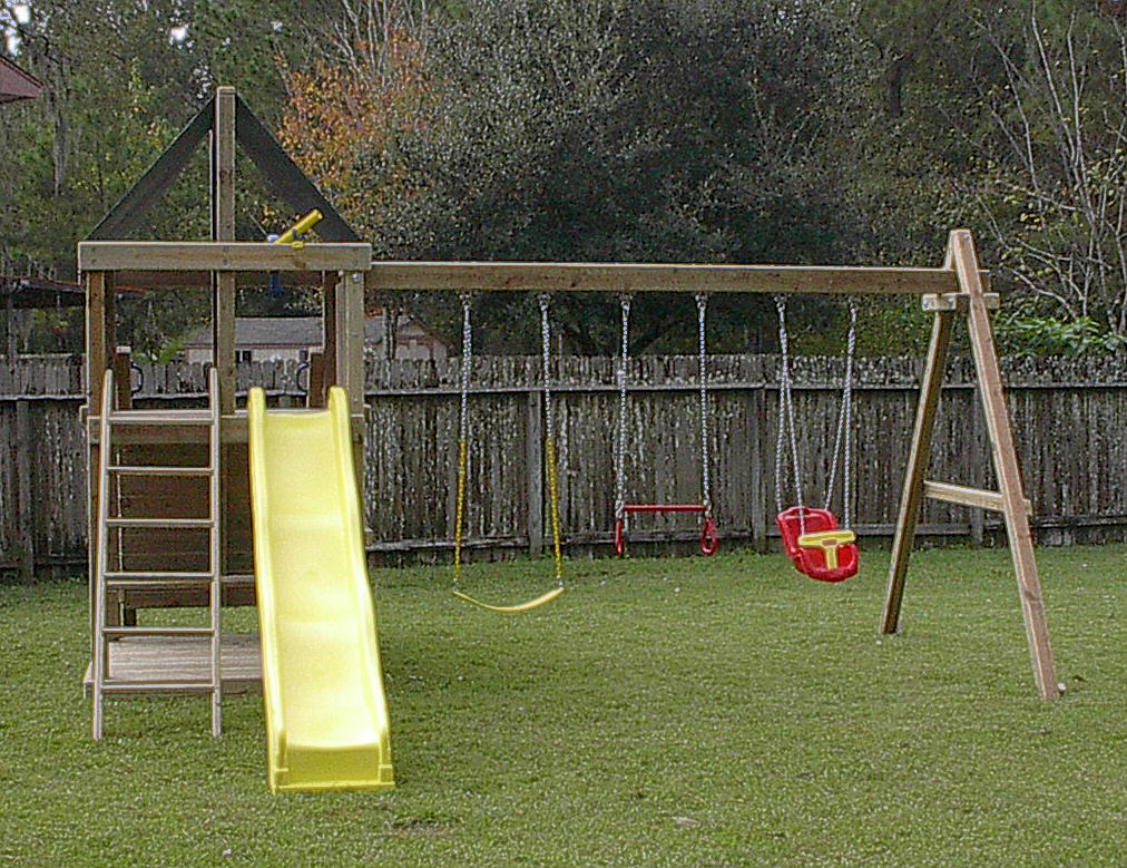 Apollo DIY Wood Fort/Swingset Plans - Jack's Backyard