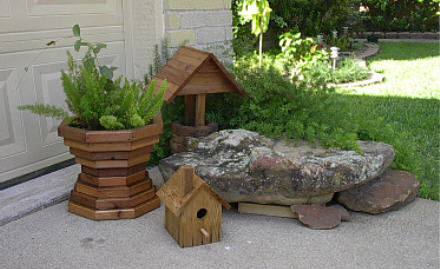 Use Leftover Wood From Any project to Make Birdhouses, Planters and Miscellaneous Wood Items for your Home