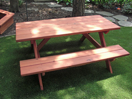 DIY Wood Picnic Table Plans. Coming Soon!