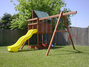 Triton DIY Fort and Add-on Swingset